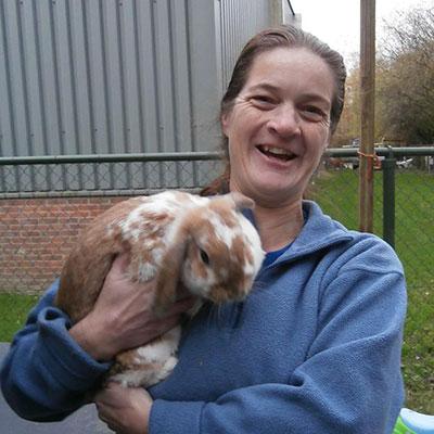 Jacqueline, vrijwilliger Animal Home