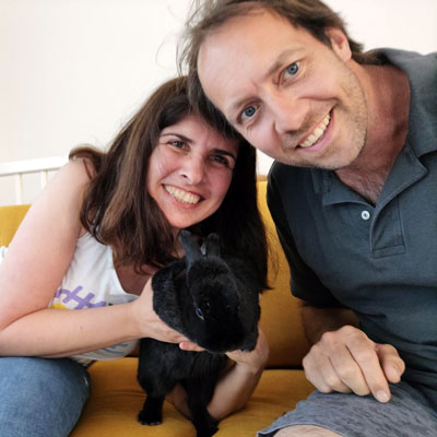 Nicole & Jan Pieter, vrijwilligers Animal Home